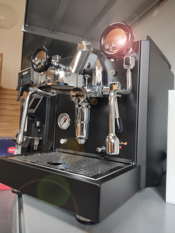 Quick Mill Rubino Modell 0981 Black Edition + Dienes RN 55 Black