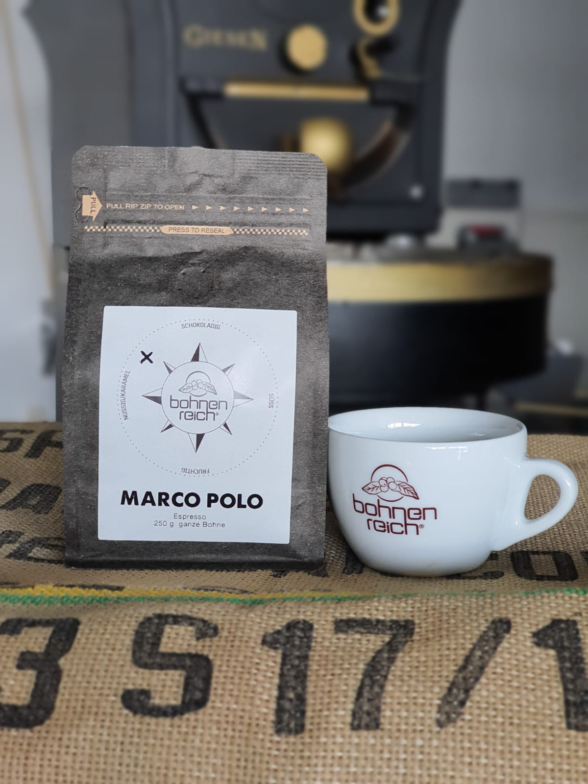 Bohnenreich Marco Polo Espresso 1 kg