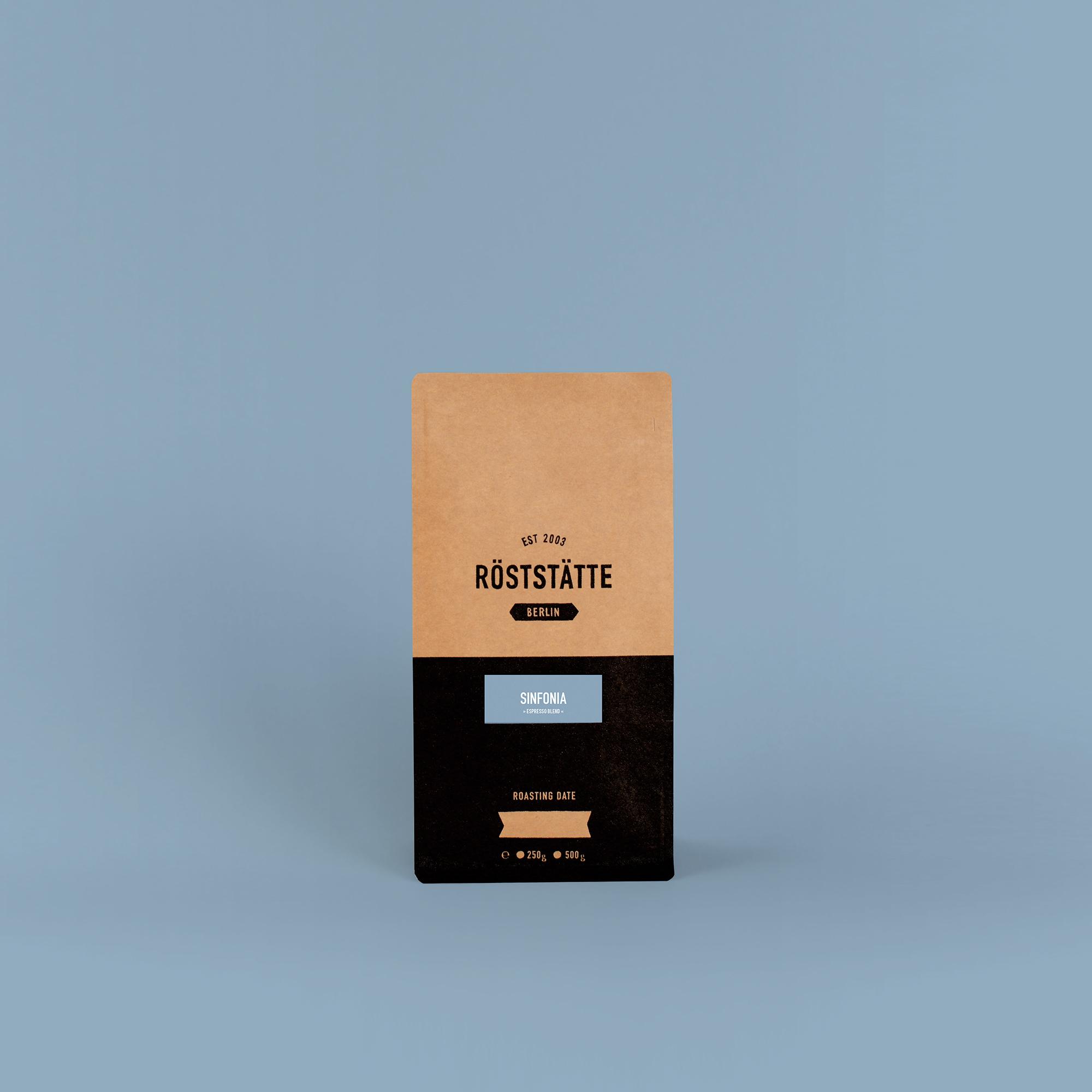 Röststätte Berlin Espresso Sinfonia 500 g