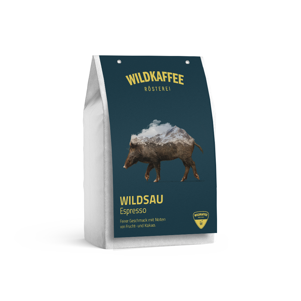 Wildkaffee Espresso Wildsau 250g