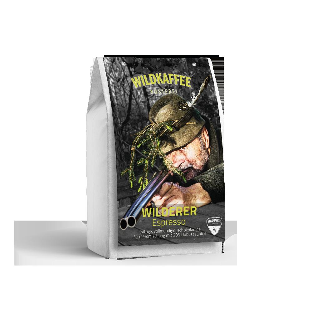 Wildkaffee Wilderer Espresso 250 g