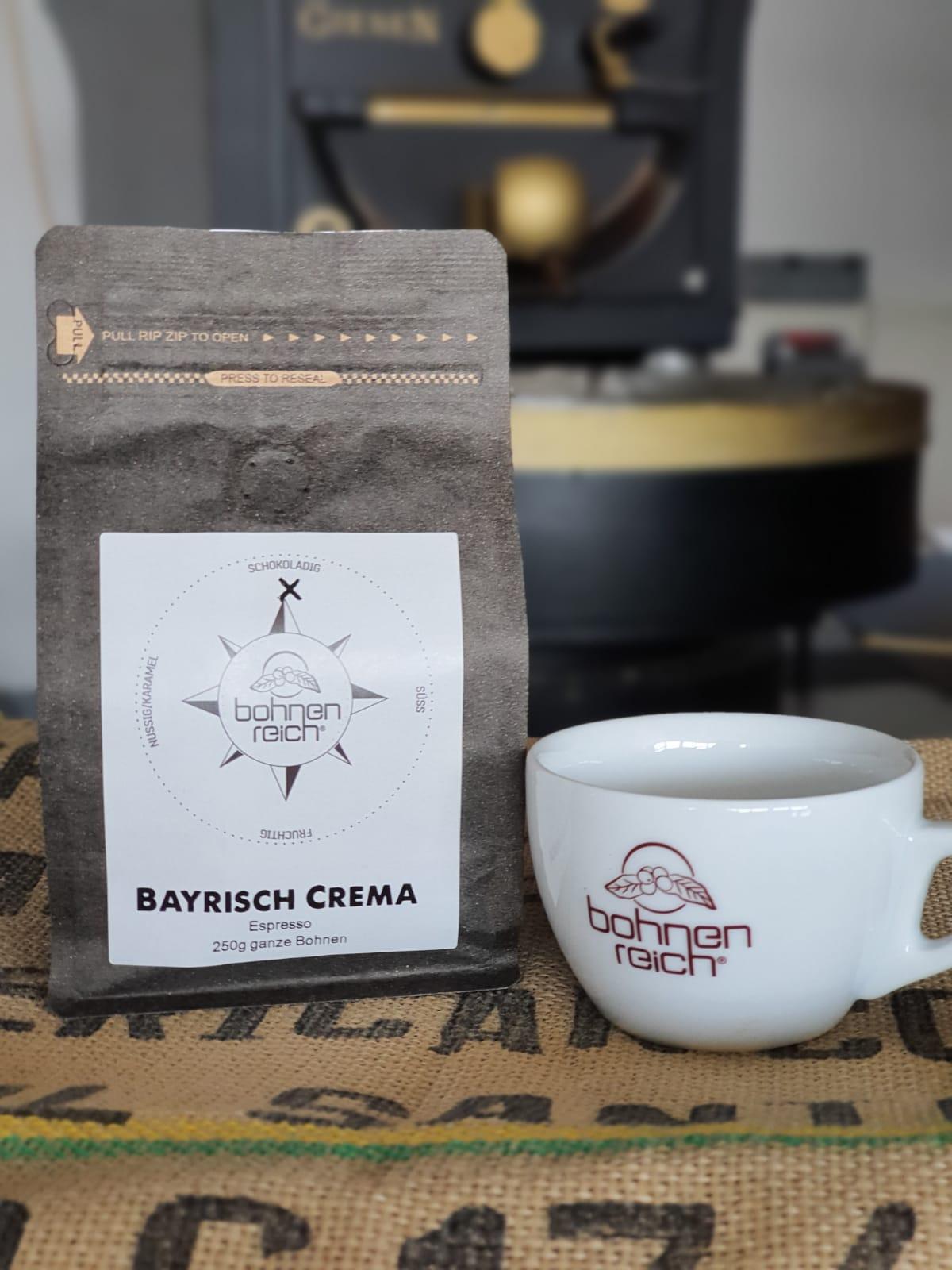 Bohnenreich Espresso Bayrisch Crema 250 g