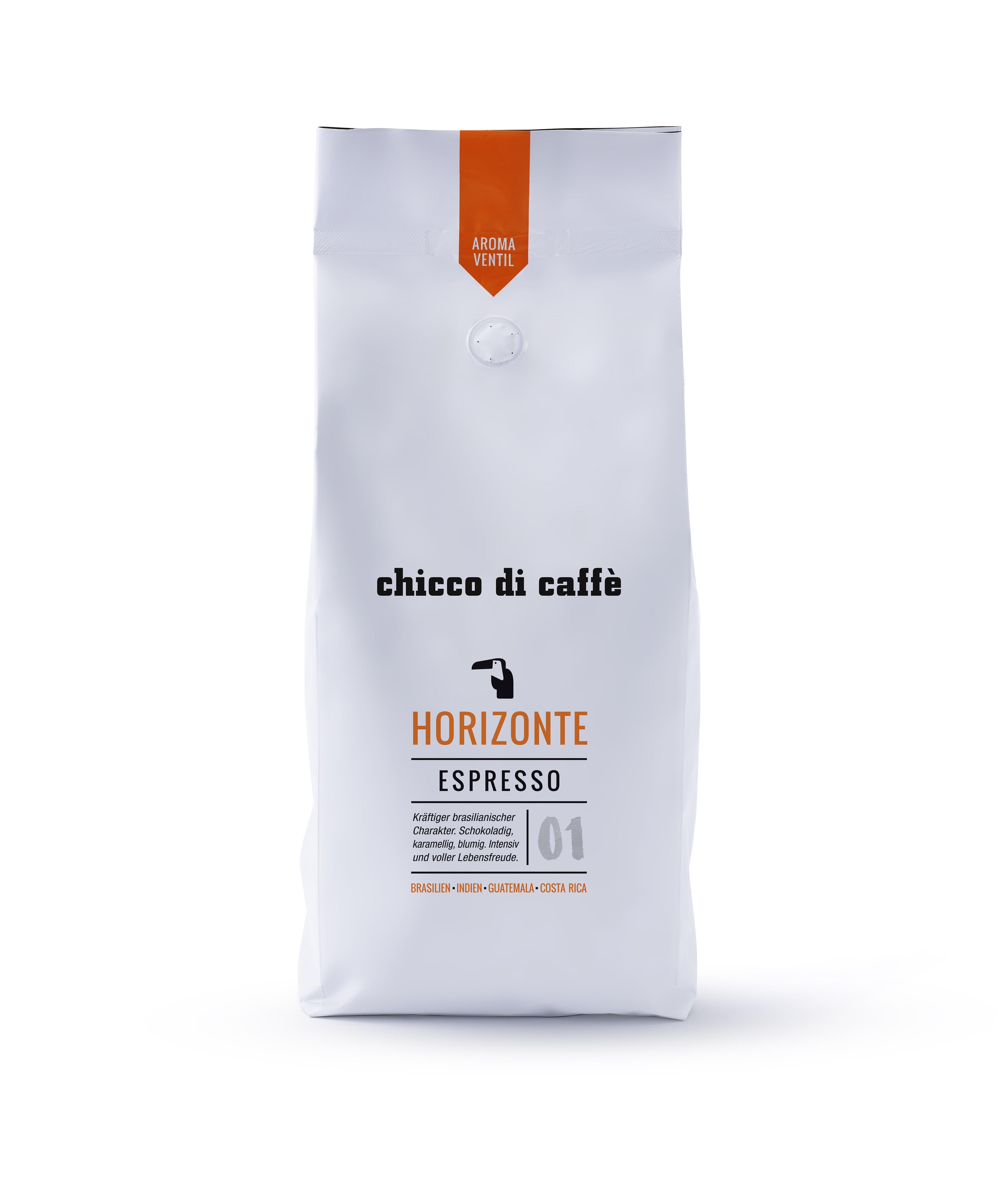 chicco di caffé Espresso Horizonte 1 kg