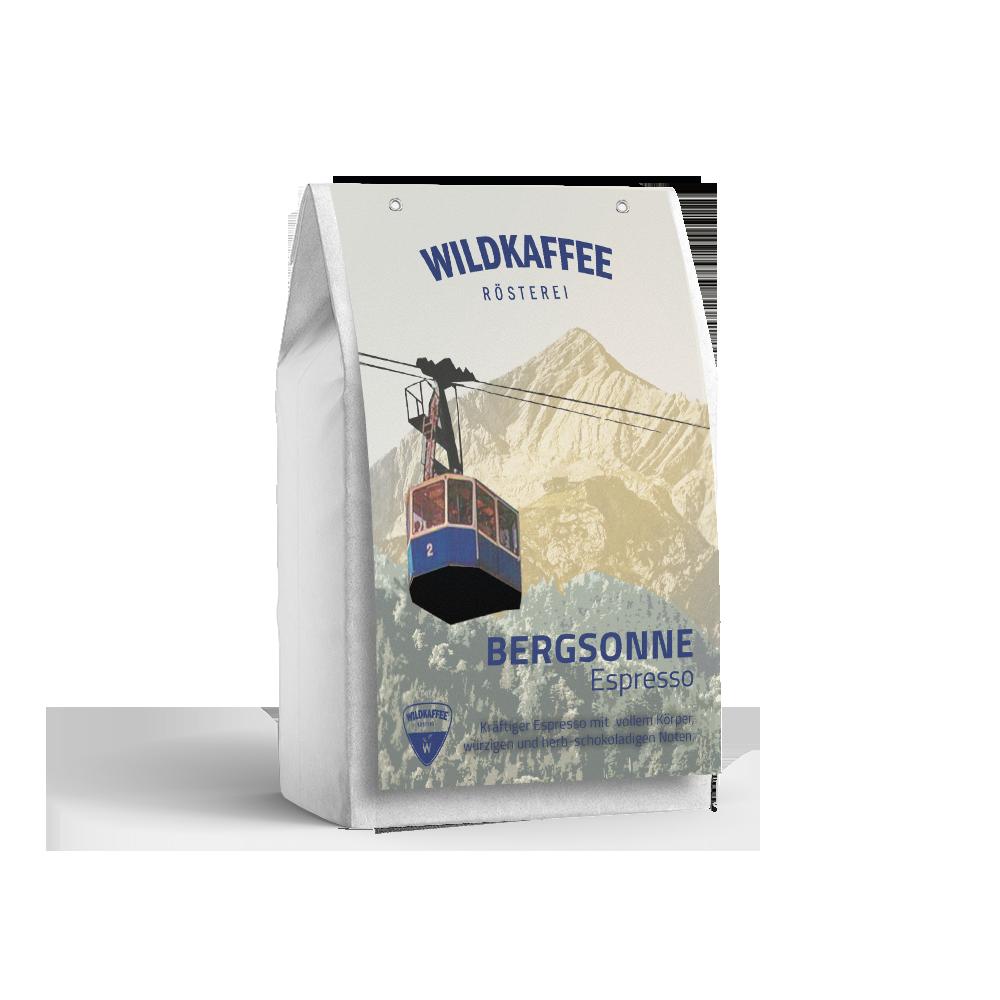 Wildkaffee Espresso Bergsonne 250 g