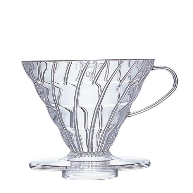 Hario Coffee Dripper V60 02 Clear