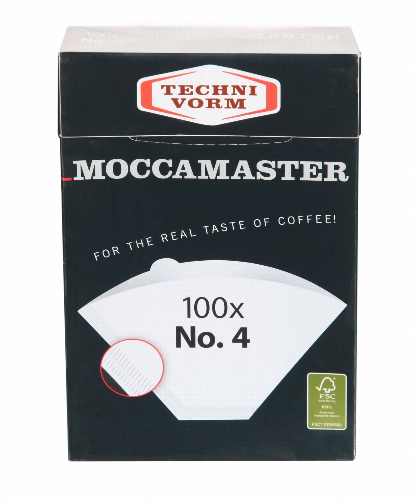 Moccamaster Kaffeefilter weiß Nr. 4