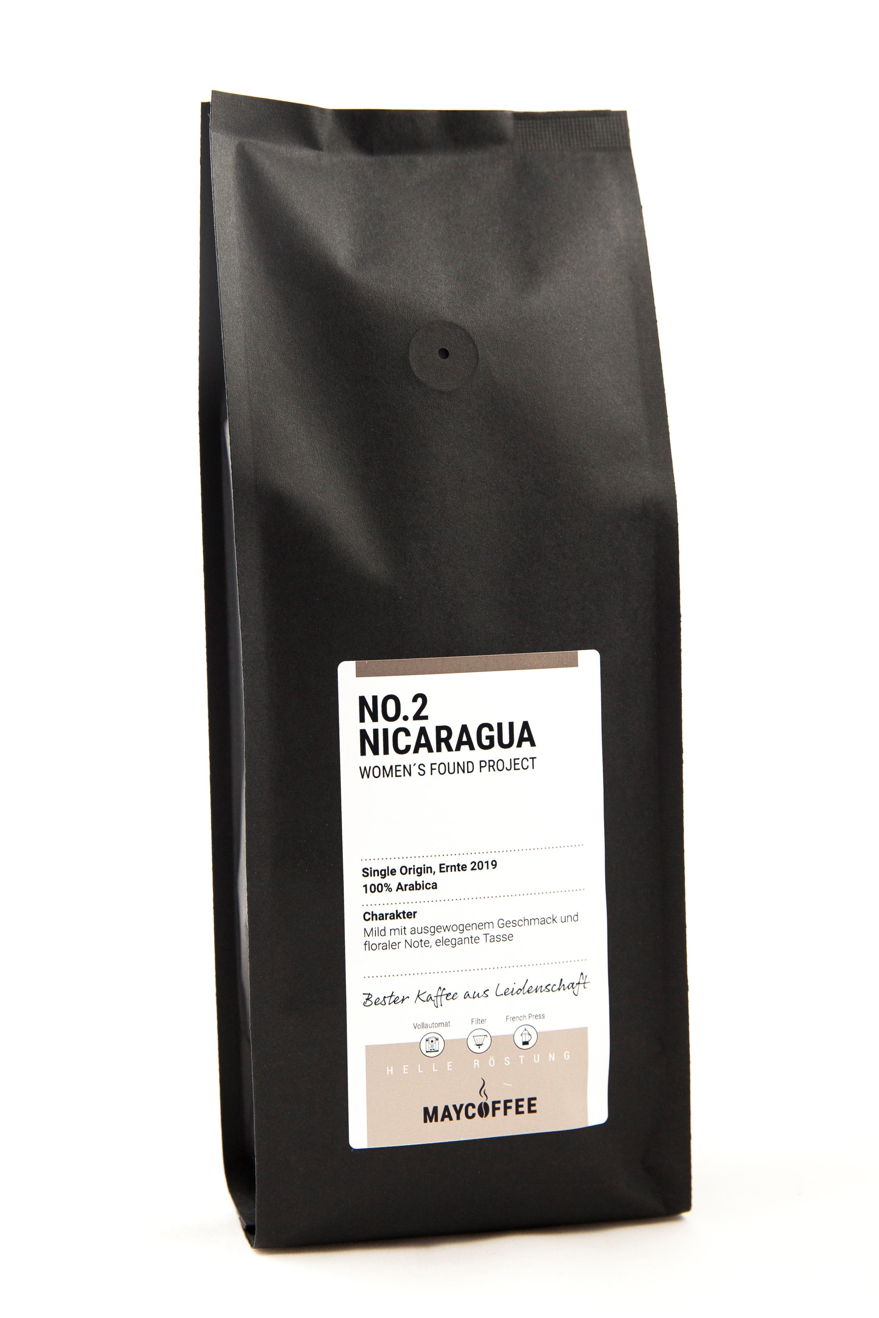 MAYCOFFEE NO. 2 Nicaragua Kaffee