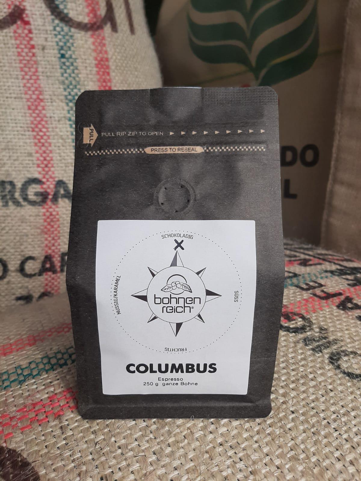 Bohnenreich Columbus Espresso 250 g