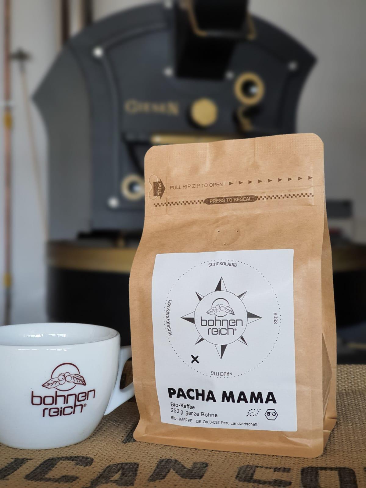 Bohnenreich Kaffee Pacha Mama 250 g