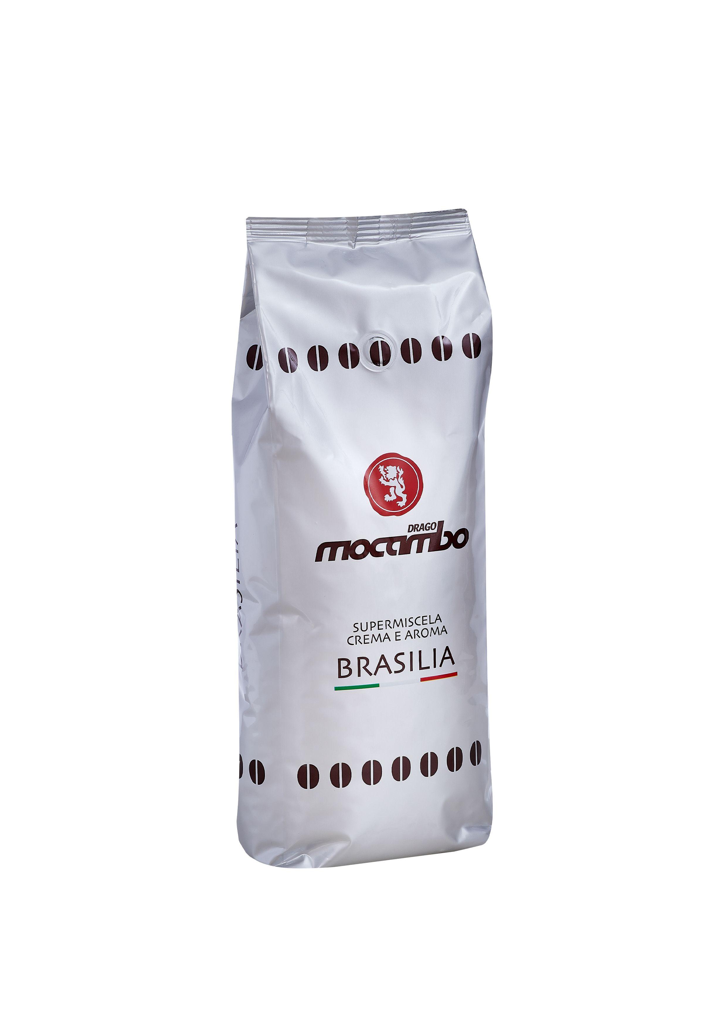Mocambo Brasilia, Espresso Kaffee Bohnen 1 kg