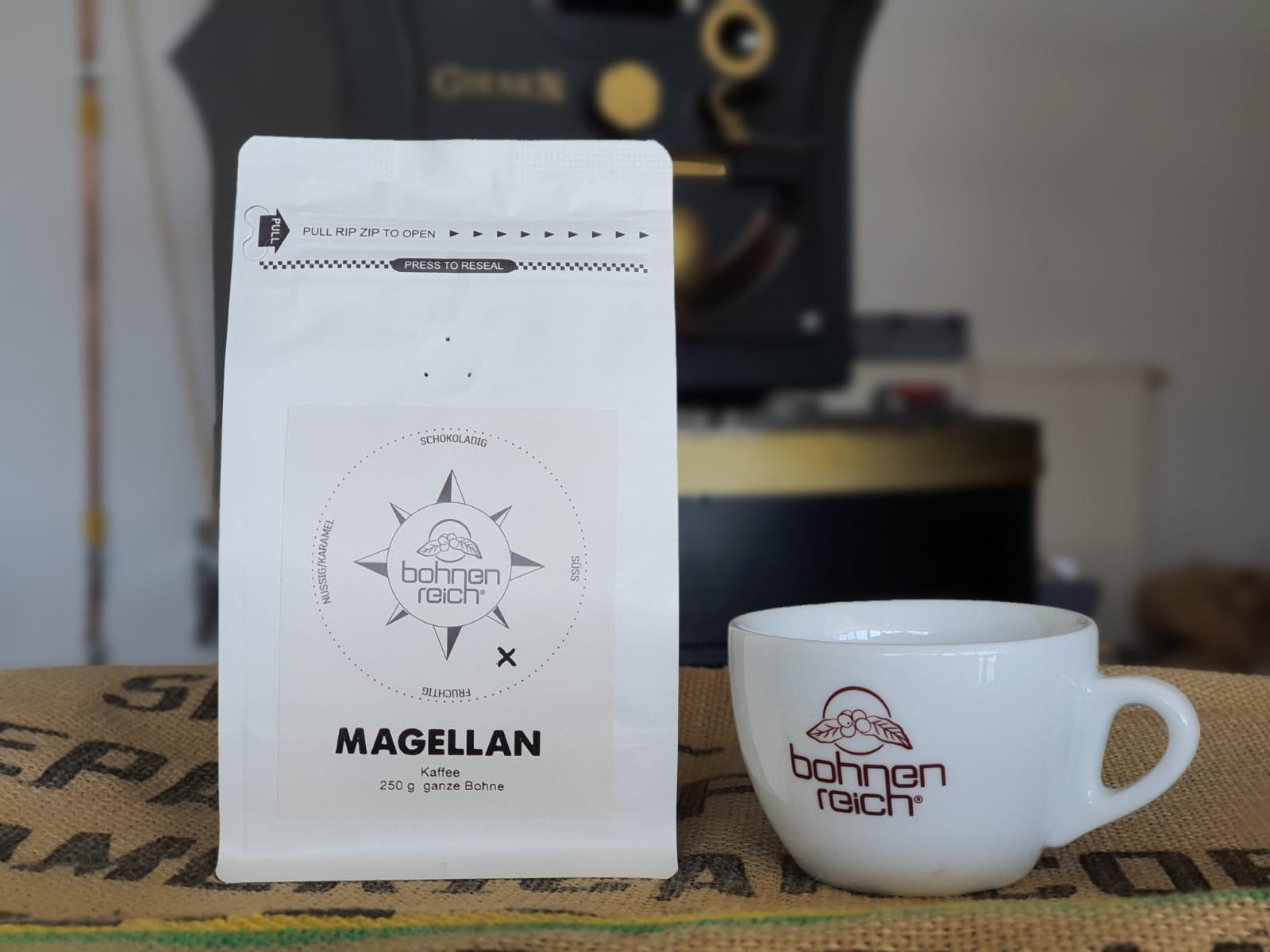Bohnenreich Kaffee Magellan 250 g