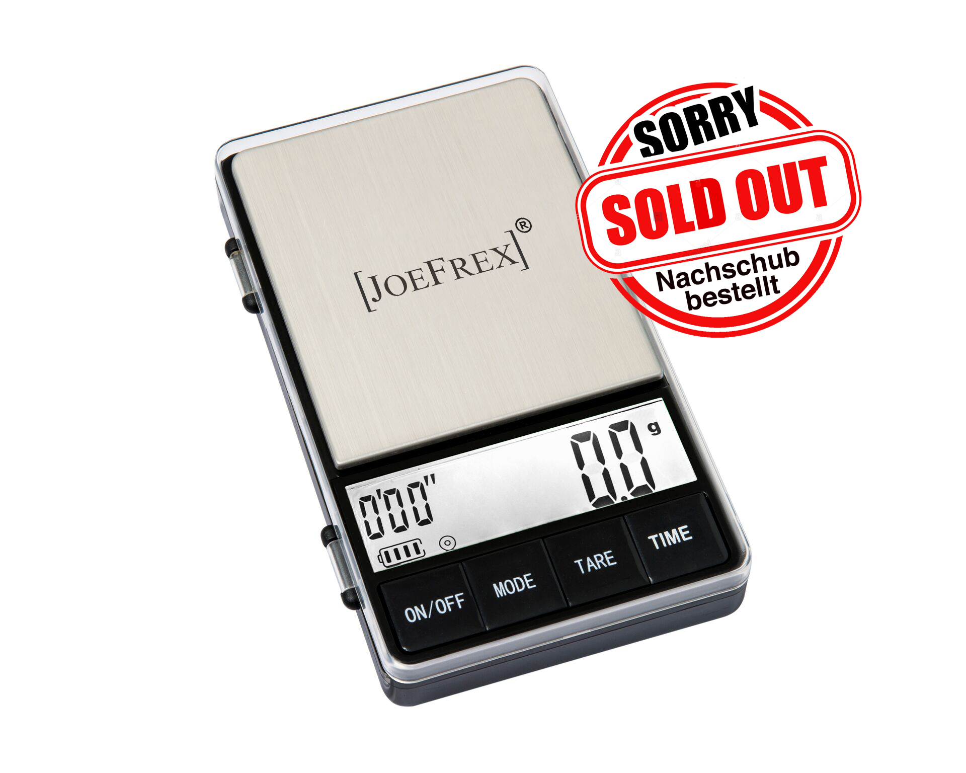 Joe Frex Digital Coffee Scale with Timer