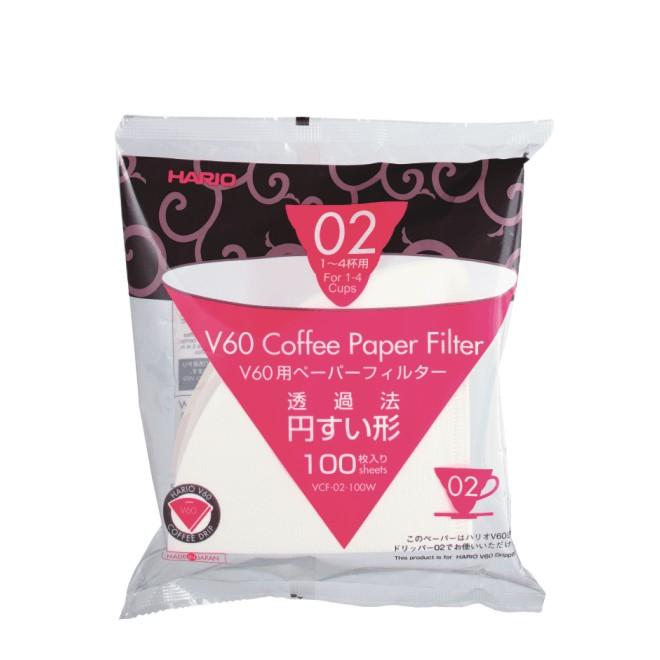 Hario V60 Papierfilter 02, weiß