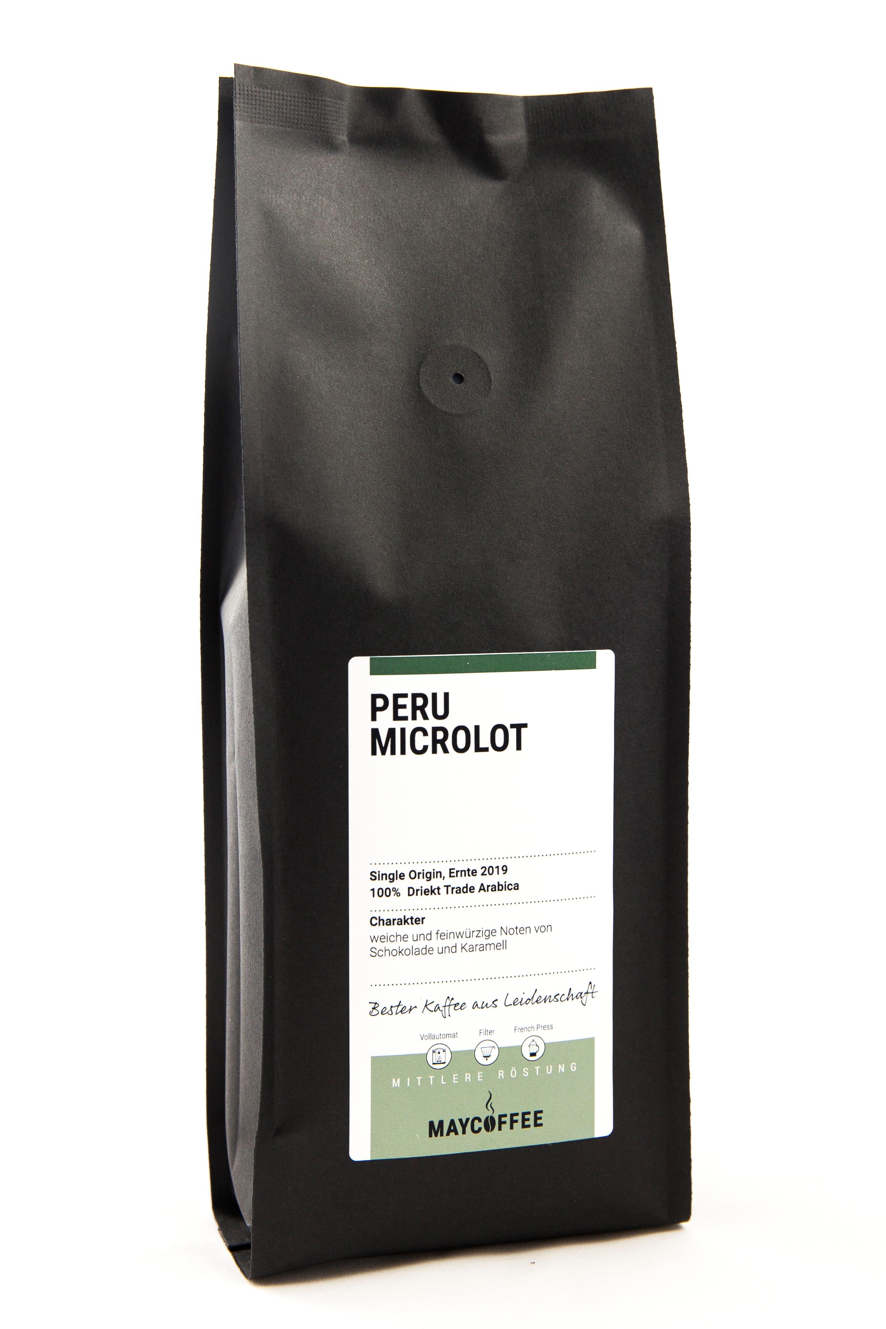 MAYCOFFEE Peru Microlot Kaffee