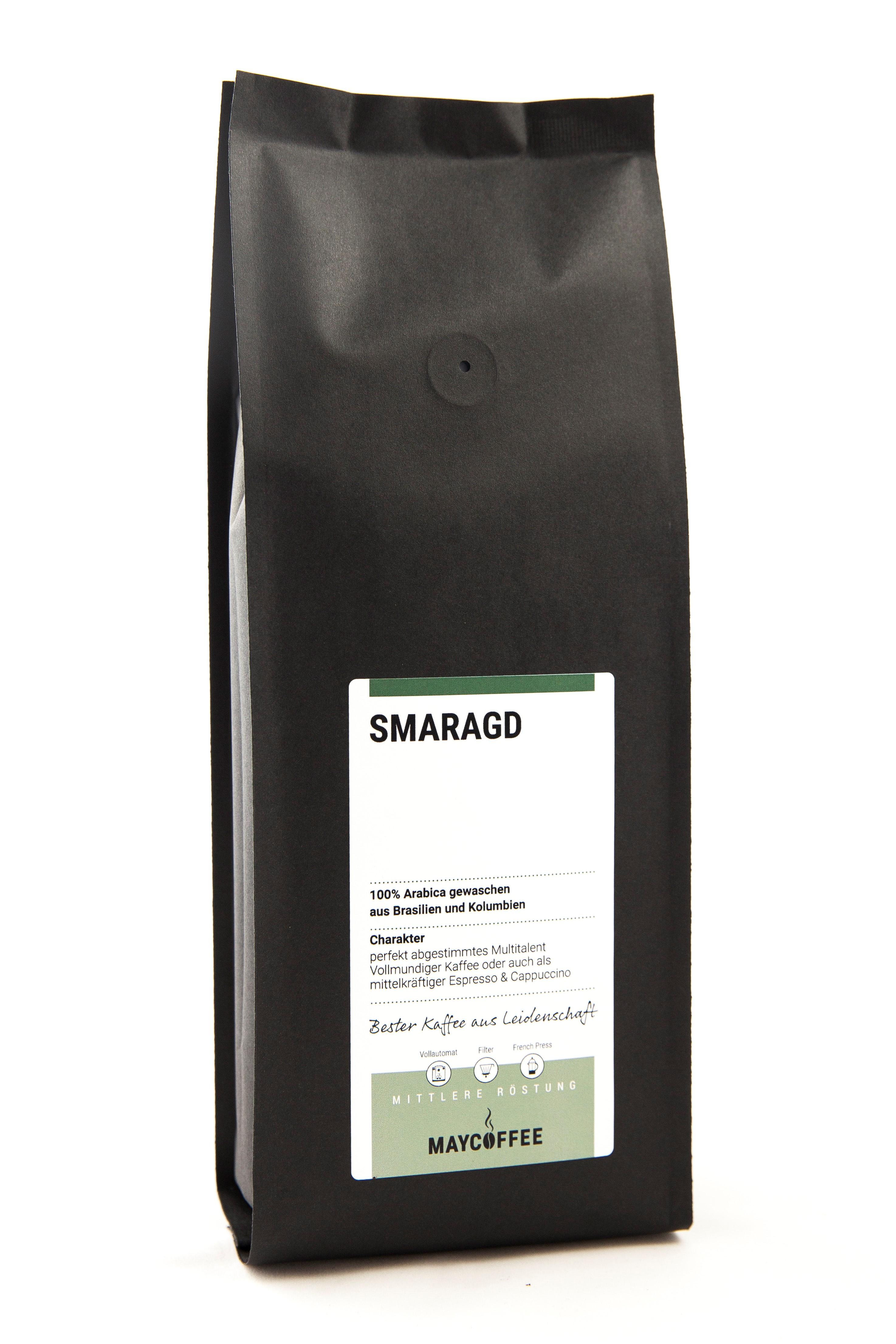 MAYCOFFEE Smaragd Kaffee